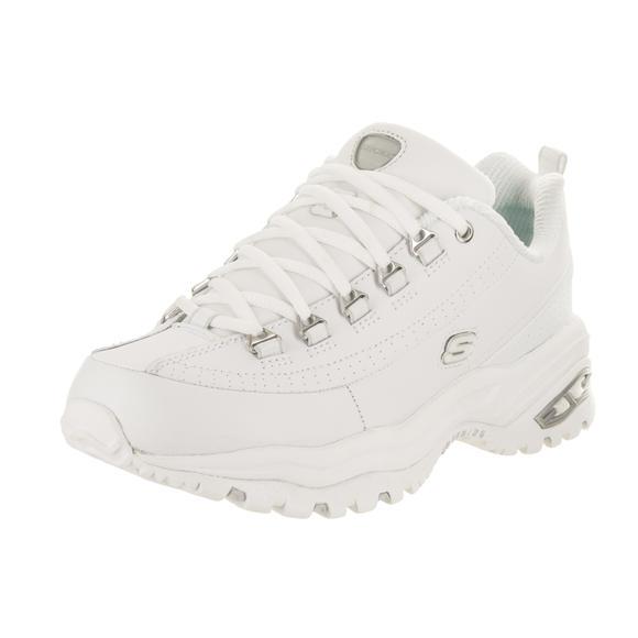 【限时特价】Skechers/斯凯奇女鞋运动休闲鞋皮质小白鞋