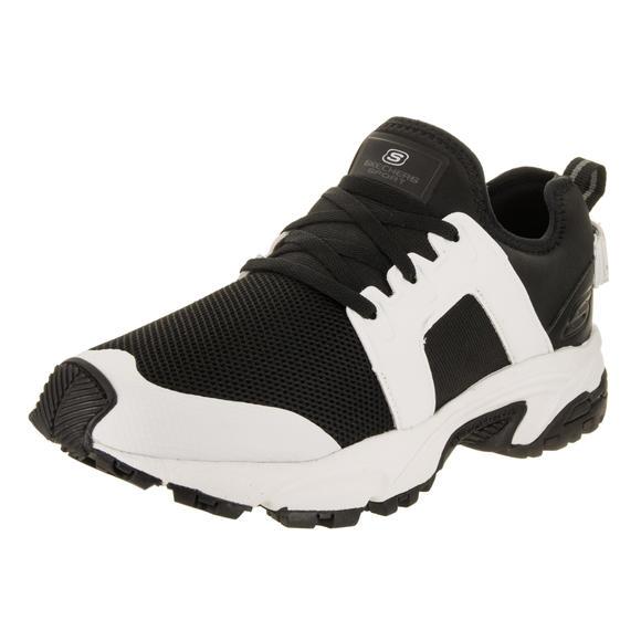 【限时特价】skechers 斯凯奇男士休闲鞋 黑白经典运动鞋 DRACFORT